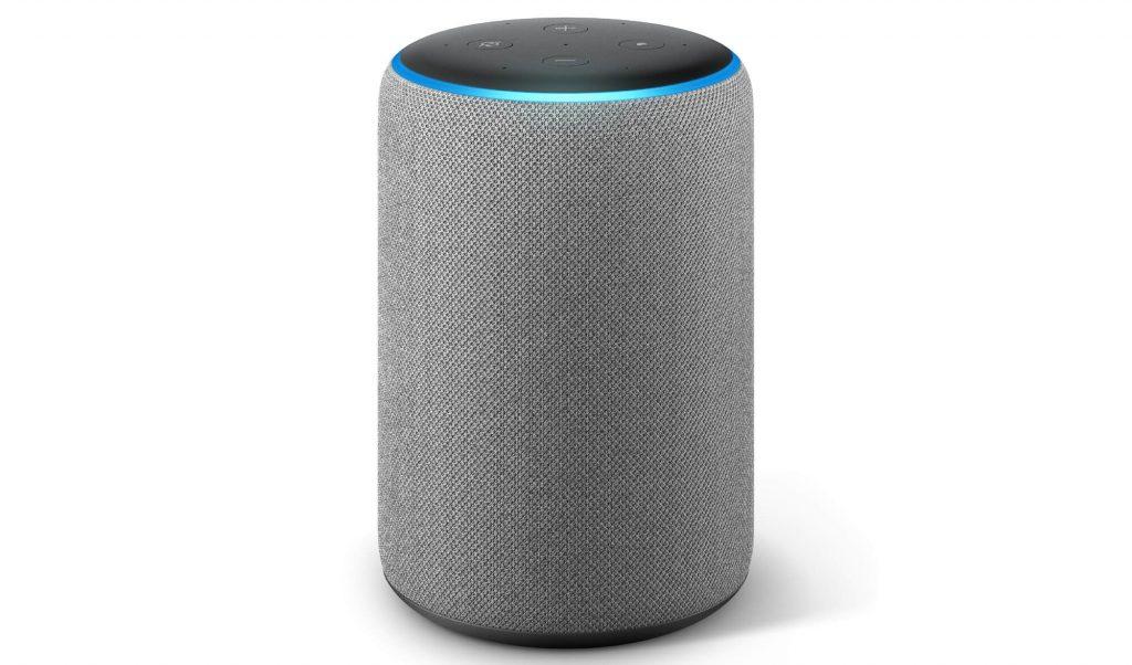 Amazon Echo hellgrau (3. Generation) (Bild: Amazon)