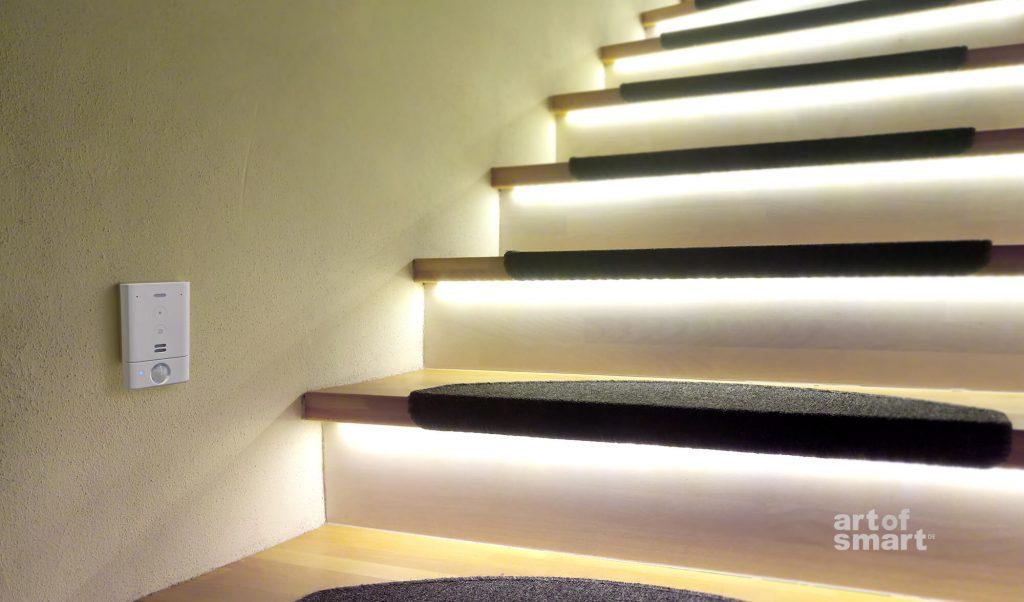 Amazon Echo Flex als Bewegungsmelder für Beleuchtung (Bild: artofsmart.de)