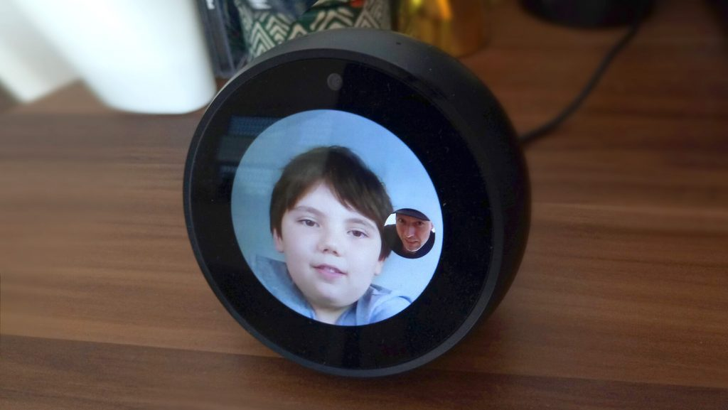 Echo Spot Videotelefonat (Bild: artofsmart.de)