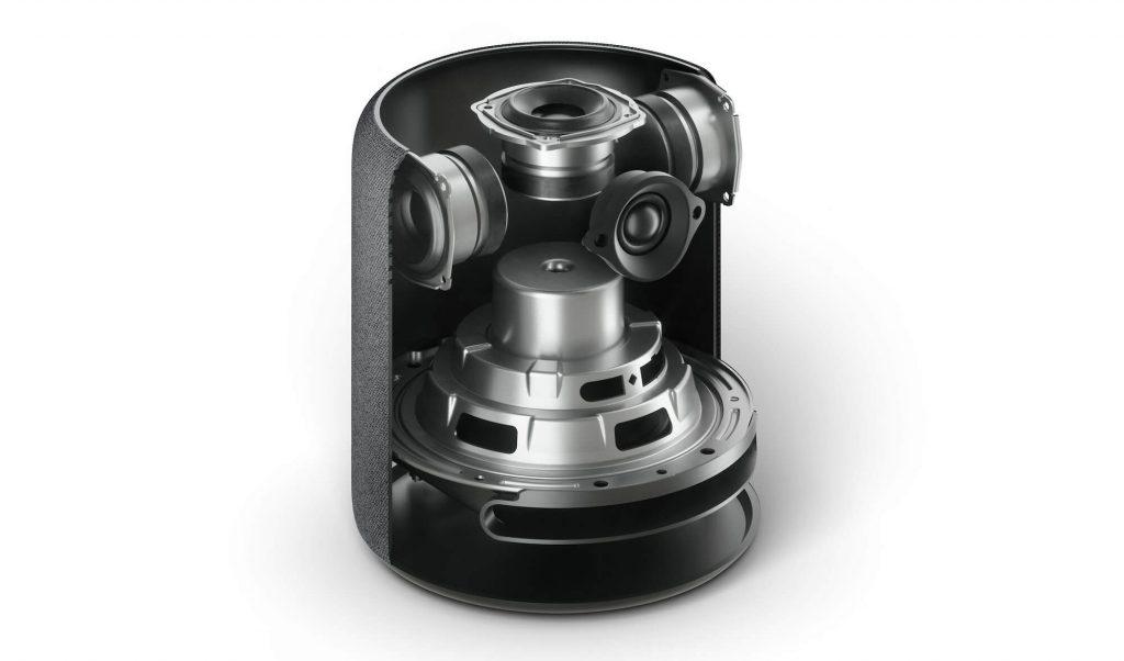 Technik im Amazon Echo Studio (Bild: Amazon)