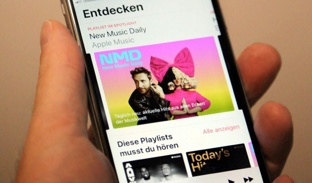 Apple Music Playlists (Bild: artofsmart.de)