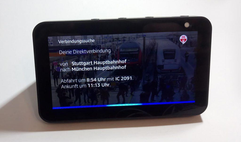 Deutsche Bahn Alexa Skill - Fahrplanauskunft (Bild: artofsmart.de)