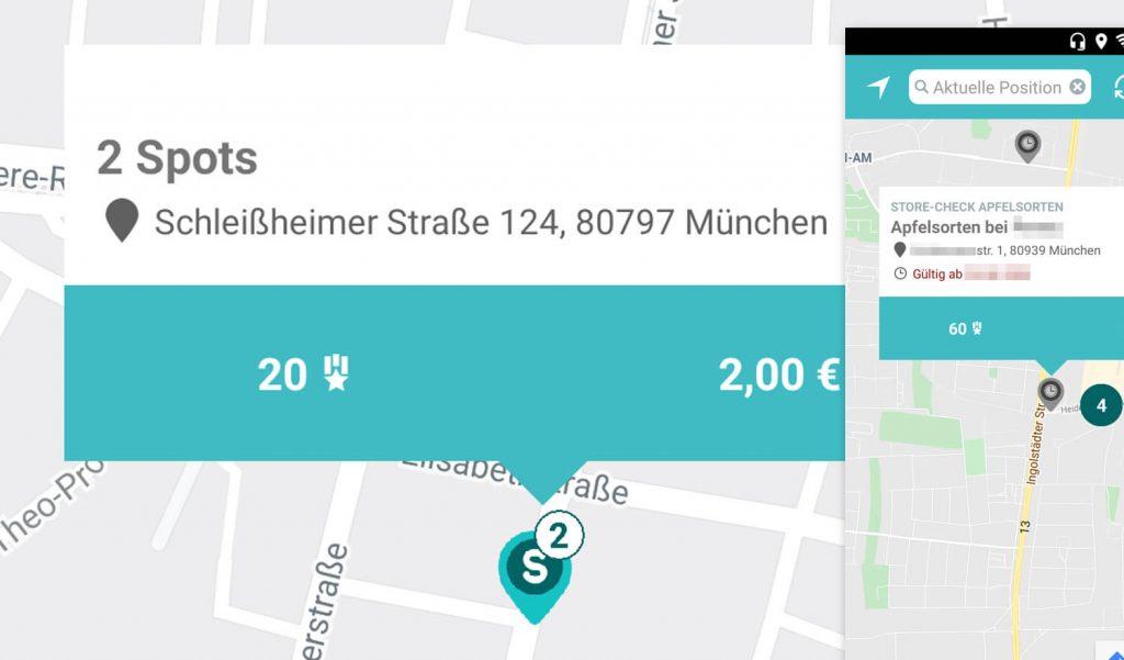 Geld verdienen mit Handy und Streetspotr App (Bild: artofsmart.de)