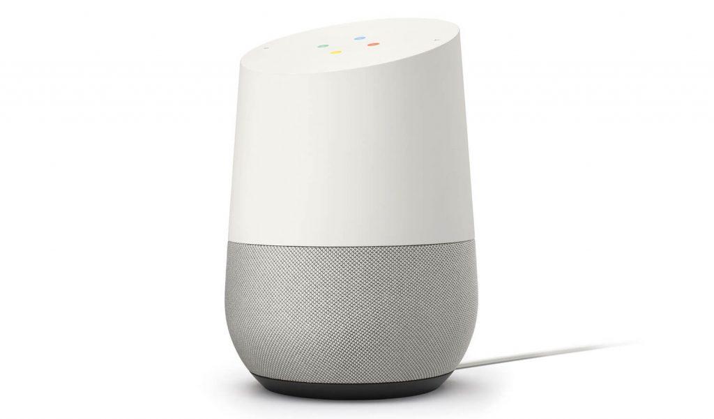 Google Home Lautsprecher (Bild: Google)