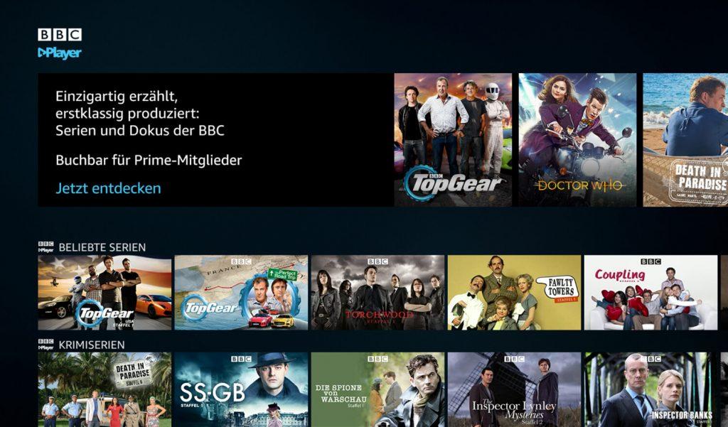 Prime Video Channels BBC Player (Bild: artofsmart.de)