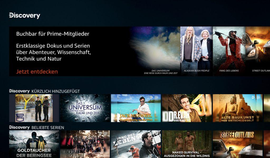 Prime Video Channels Discovery (Bild: artofsmart.de)