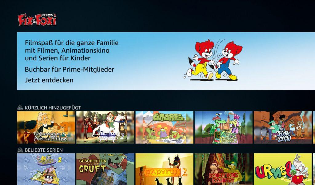Prime Video Channels Fix & Foxi (Bild: artofsmart.de)