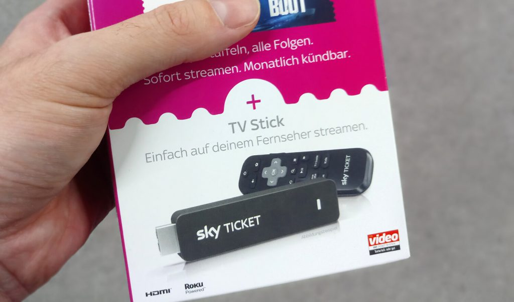 Sky Ticket TV-Stick im Test (Bild: artofsmart.de)