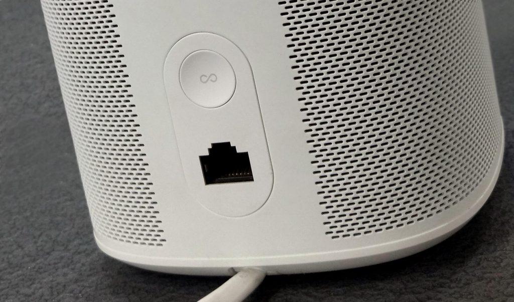 Rückseite des Sonos One Smart Speakers (Bild: artofsmart.de)
