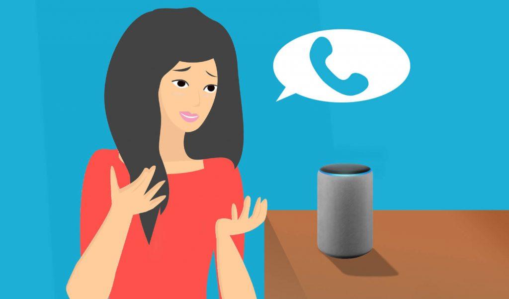 Telefonieren mit Alexa (Bild: artofsmart.de)