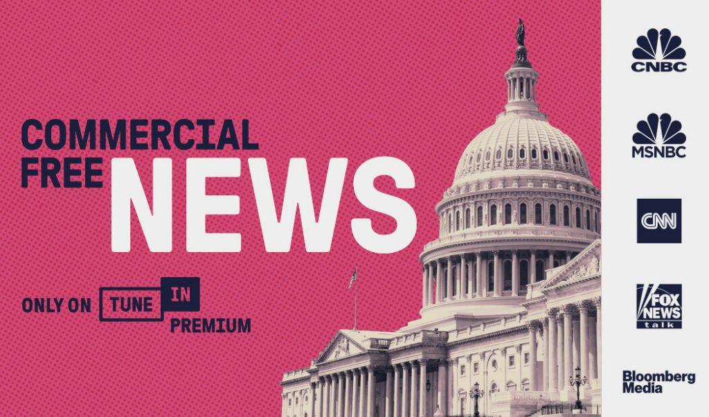News auf TuneIn (Bild: TuneIn)