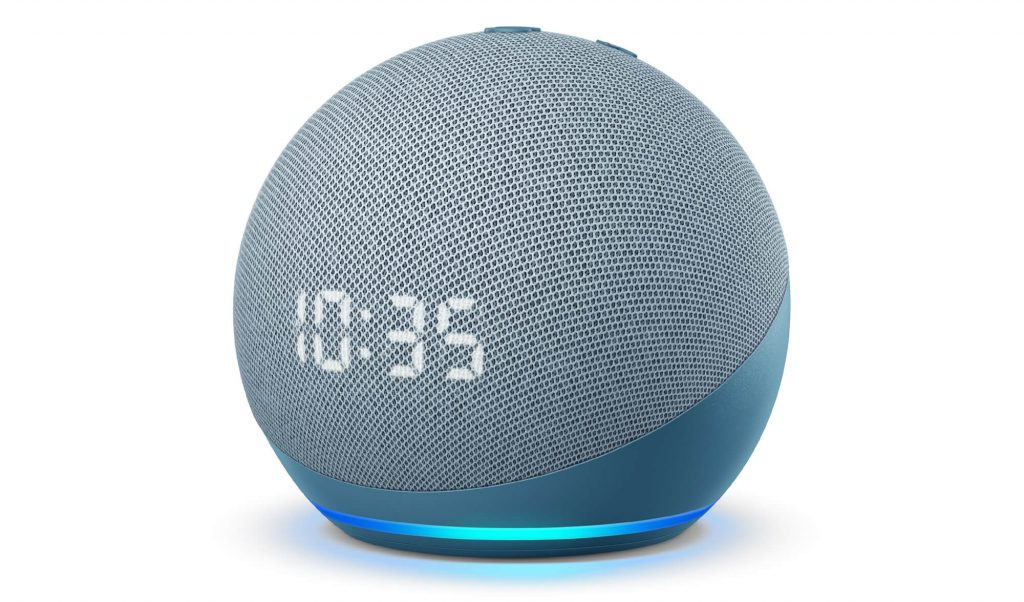 Amazon Echo Dot 4. Generation blaugrau (Bild: Amazon)