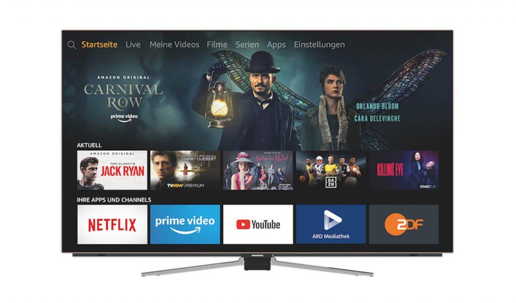 Grundig Fire TV Edition Fernseher (Bild: Amazon)