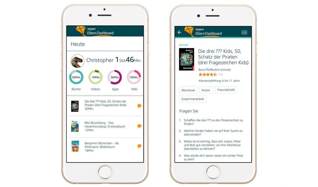 Amazon Eltern Dashboard