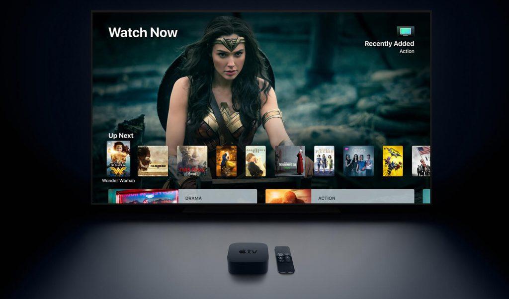 Apple TV 4K Startbildschirm (Bild: Apple)