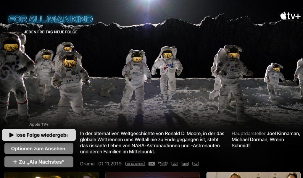 Apple TV+ Serie (Screenshot: artofsmart.de)