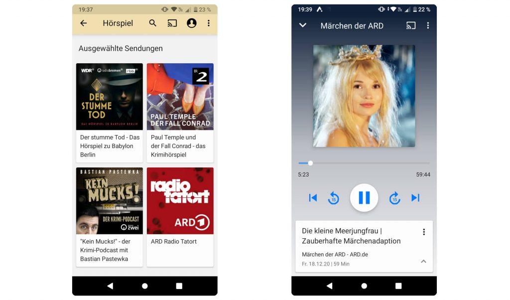 Hörspiele in der ARD Audiothek (Bild: artofsmart.de)
