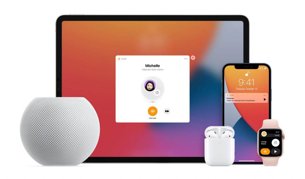 Interkom auf Apple-Produkten (Bild: Apple)