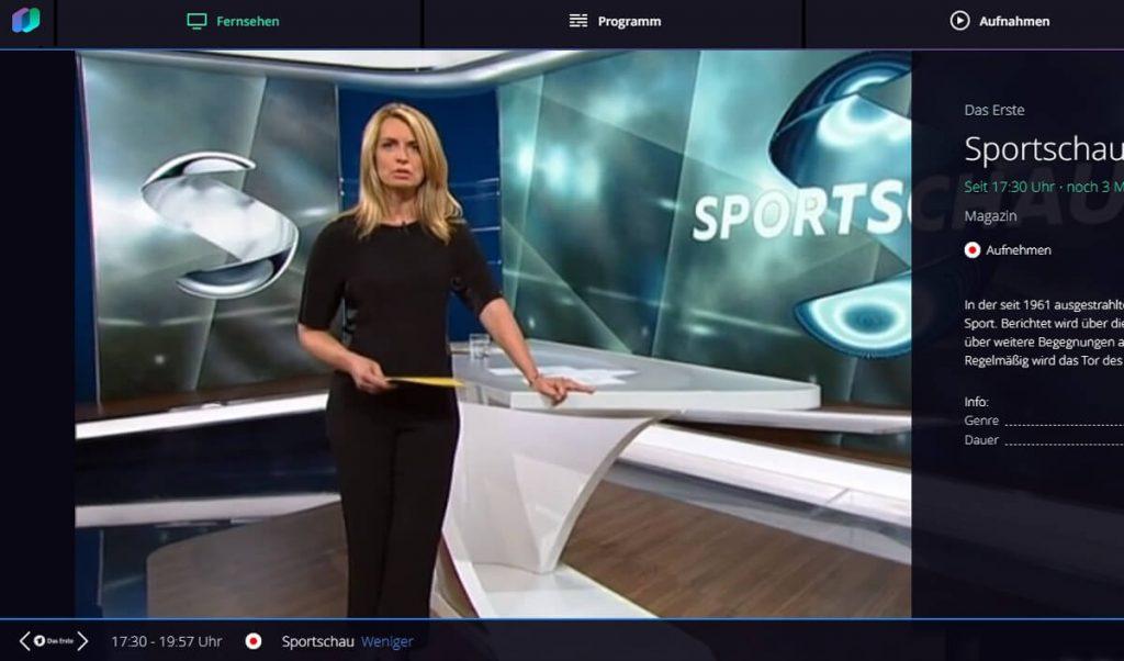 Waipu.tv Sender im Internet-Browser (Screenshot: artofsmart.de)