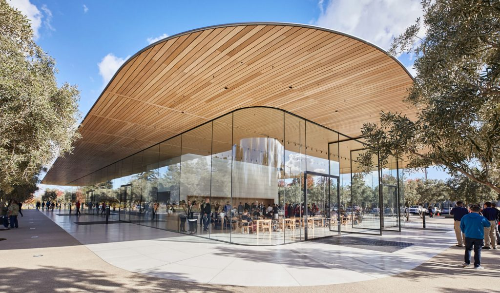 Apple Park Visitor Center in Cupertino (Bild: Apple)