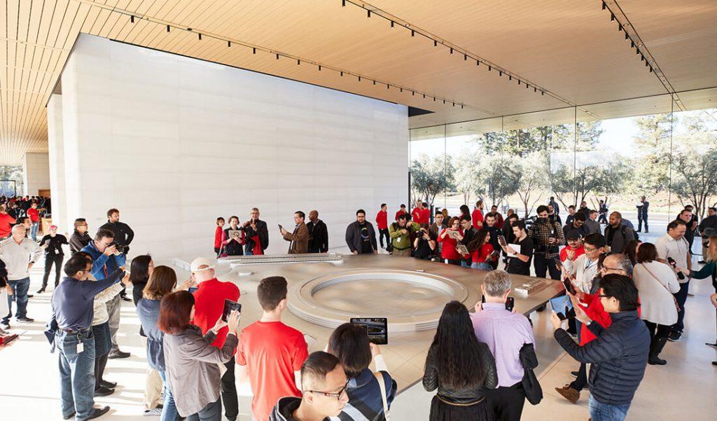 Apple Park Visitor Center 3D Modell (Bild: Apple)