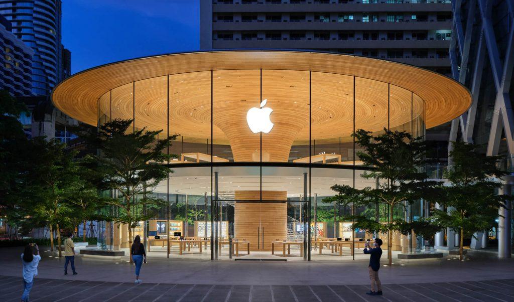Apple Central World Bangkok Ratchaprasong (Bild: Apple)