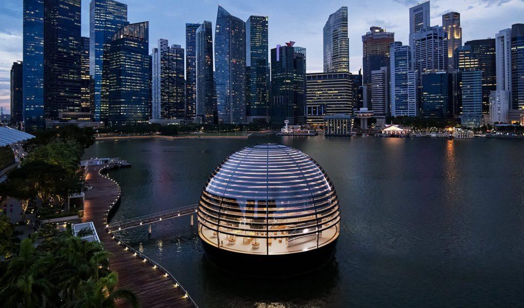 Apple Marina Bay Sands Singapur (Bild: Apple)