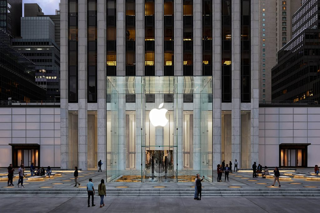 Apple Fifth Avenue New York (Bild: Apple)