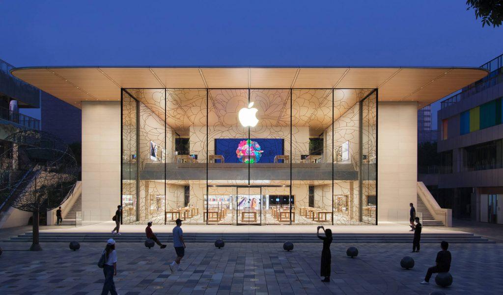 Apple Store Sanlitun Peking (Bild: Apple)