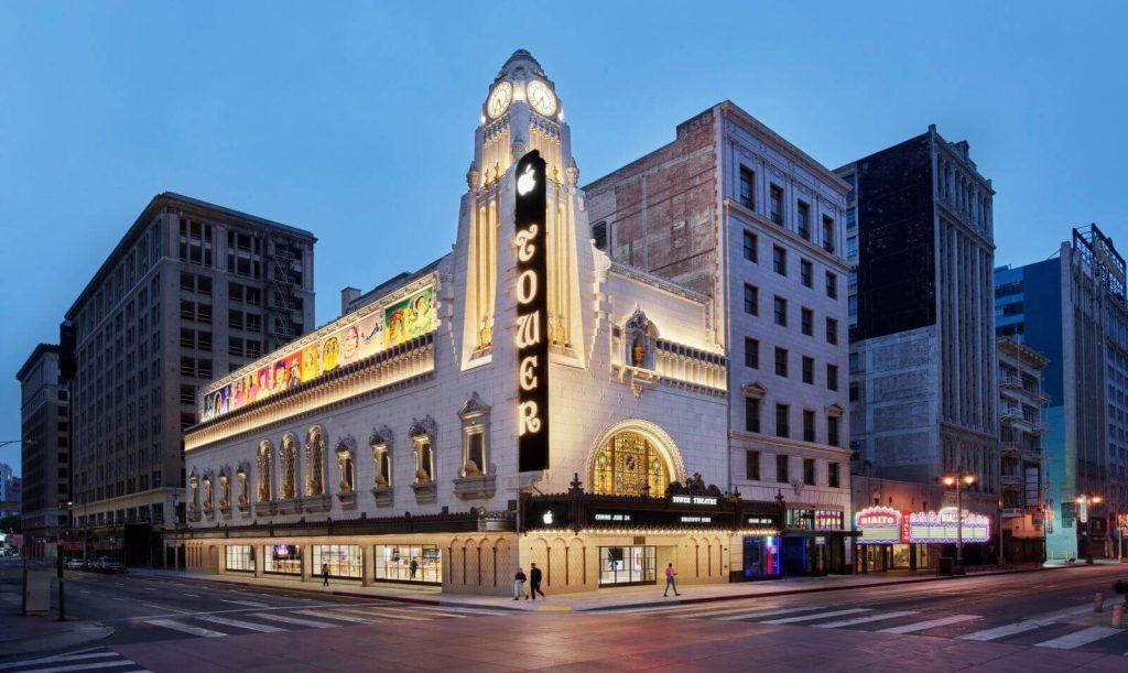 Apple Tower Theatre Los Angeles (Bild: Apple)
