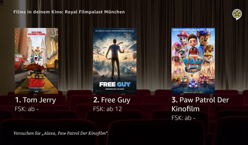 Kinoprogramm auf Alexa mit Kinoheld (Screenshot: artofsmart.de)