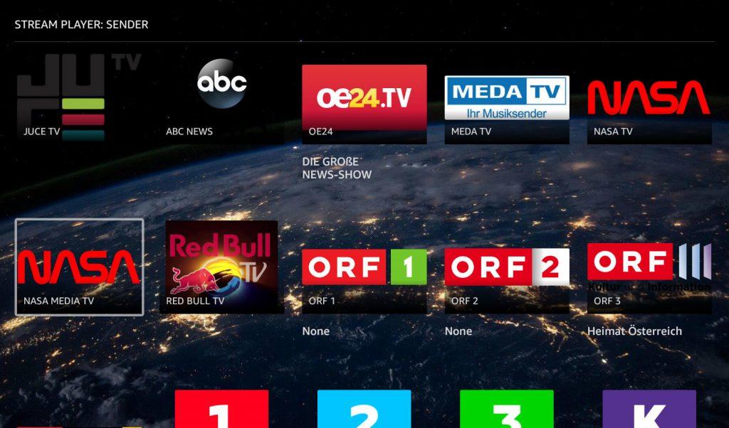 ORF-Sender im Alexa-Skill Streamplayer (Screenshot: artofsmart.de)