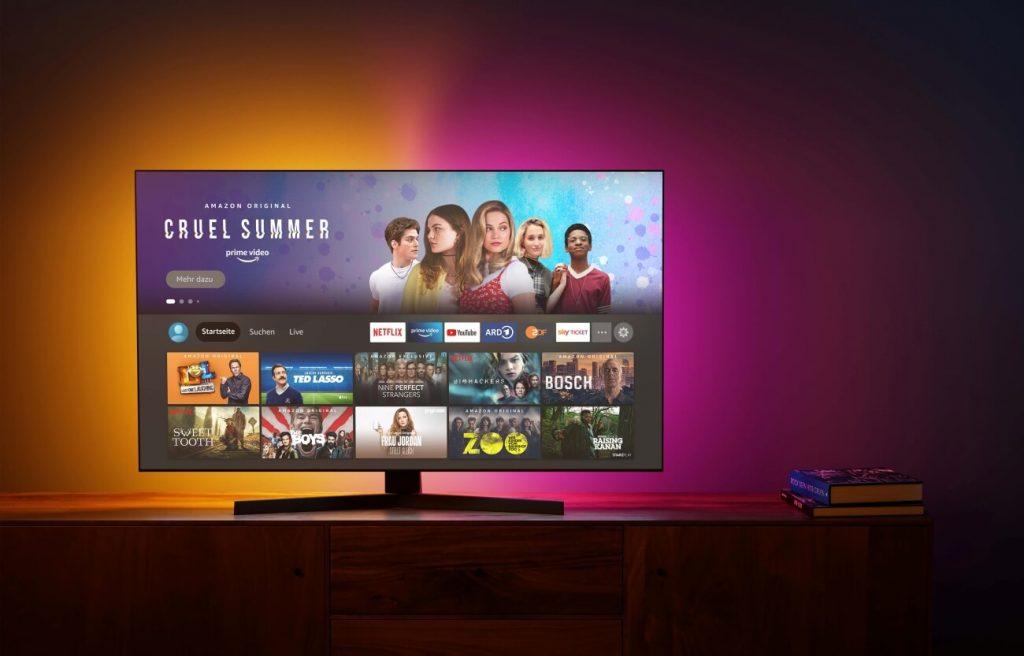 Fire TV Stick Startbildschirm (Bild: Amazon)